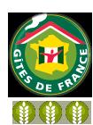 3 épis Gites de France